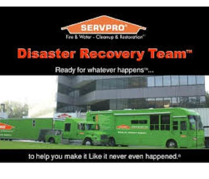 Commercial SERVPRO is here to help no matter how big the storm.
